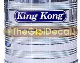 Cắt decal dán bồn nước inox, nhựa, máy nước nóng