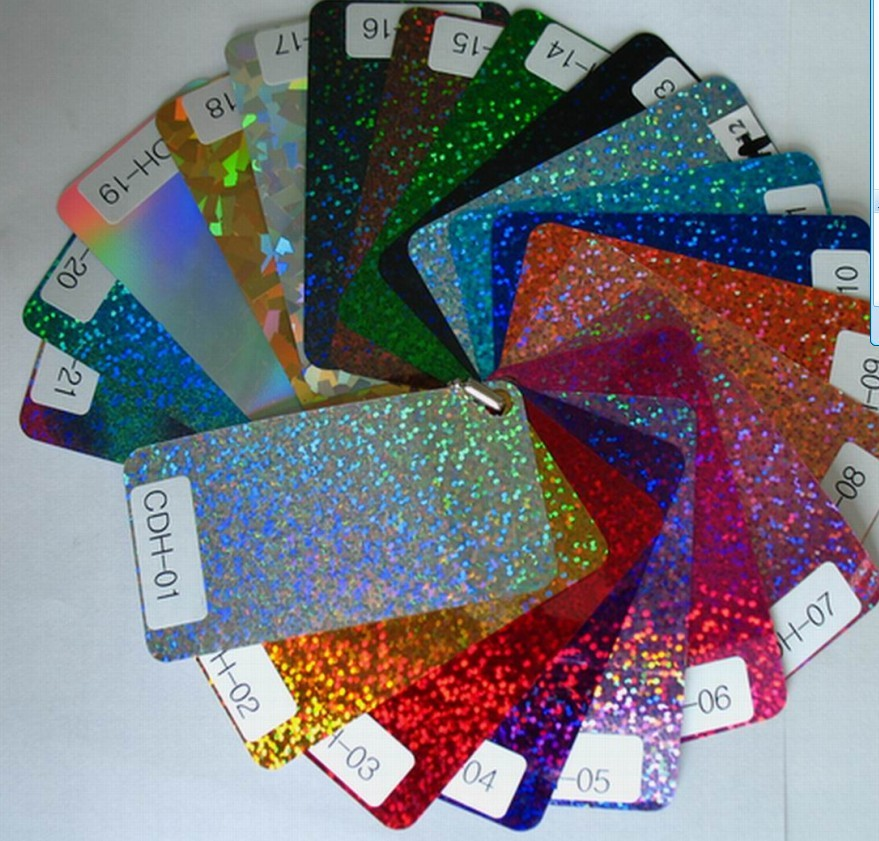 Dải màu decal nhiệt kim tuyến của TheGioIDecal
