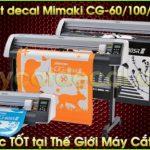 Máy cắt decal Mimaki CG-130SRIII